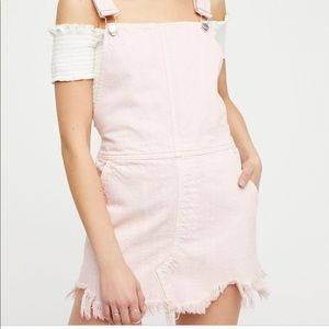Free People Torn Up Jumper. Still in stores. Pink